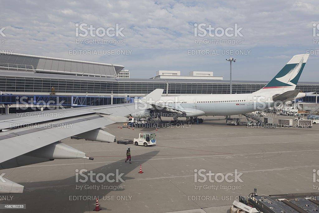 Cathay Pacific Airways stock photo