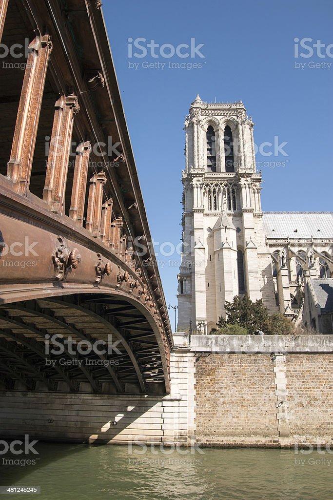 Cath?drale Notre-Dame stock photo