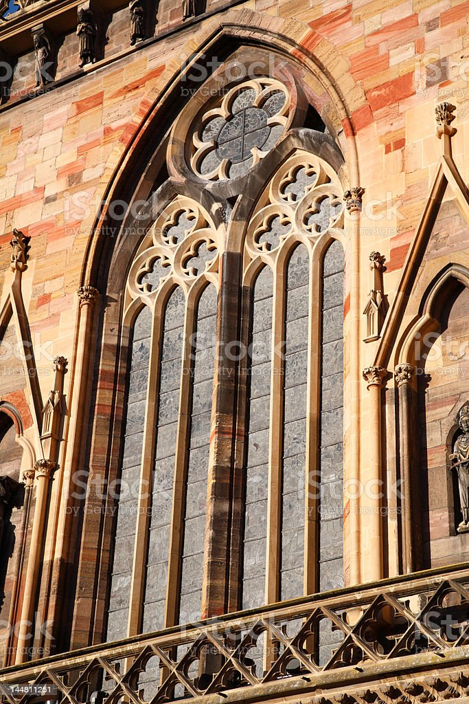 Cathedal of Colmar royalty-free stock photo