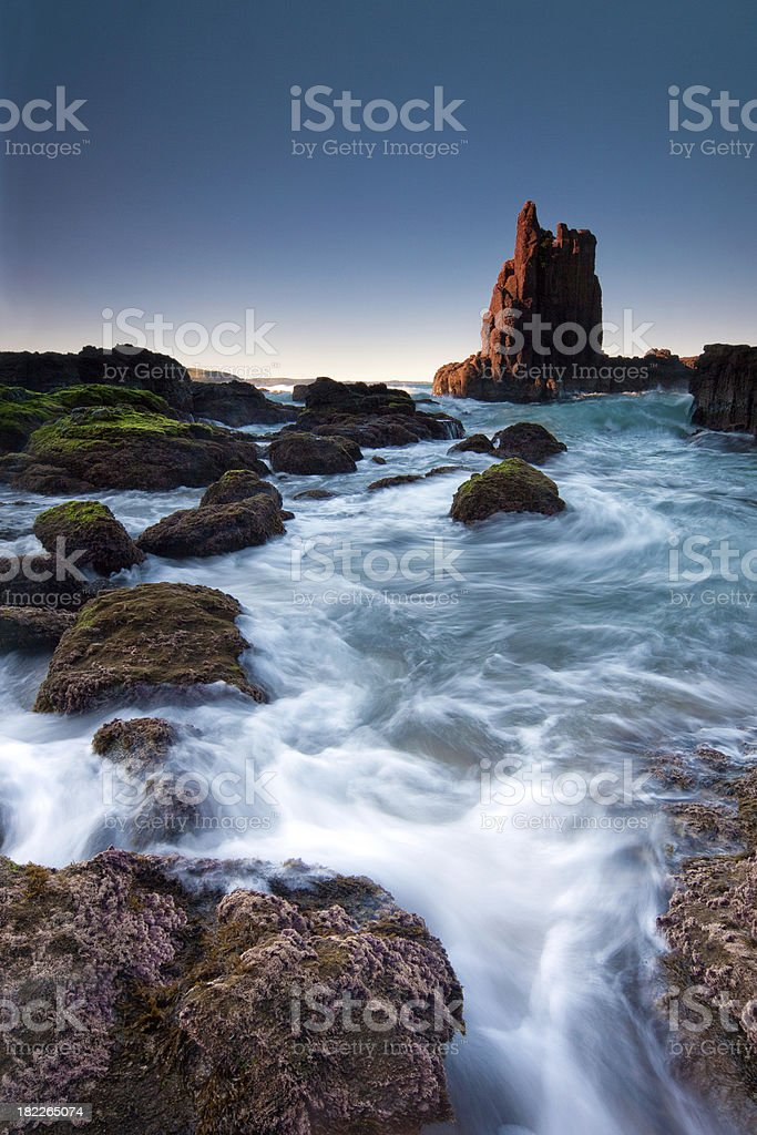 Cathederal Rocks, New South Wales, Australia stock photo
