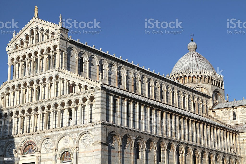 Cathedral 'Duomo' Pisa, Tuscany, Italy royalty-free stock photo
