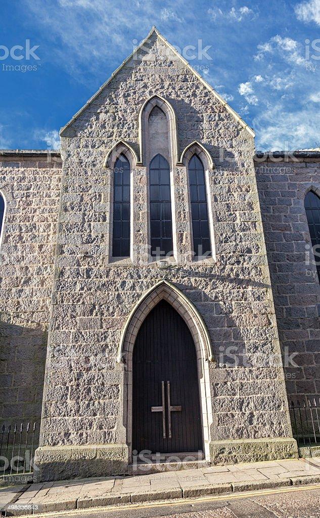 Cathedral - Aberdeen - Scotland - UK stock photo