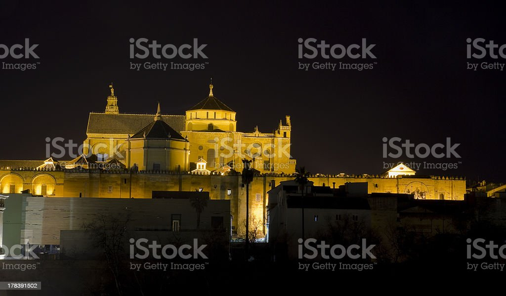 Cathedral and Mosque of Cordoba royalty-free stock photo