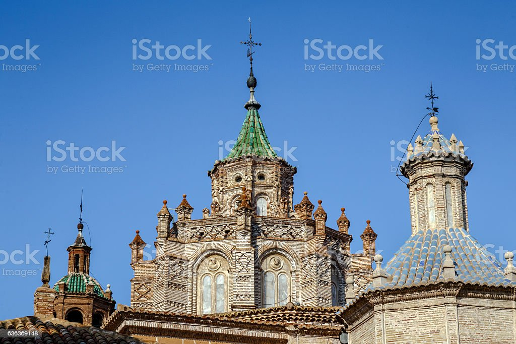 Cathedral at Teruel, Aragon, Spain stock photo
