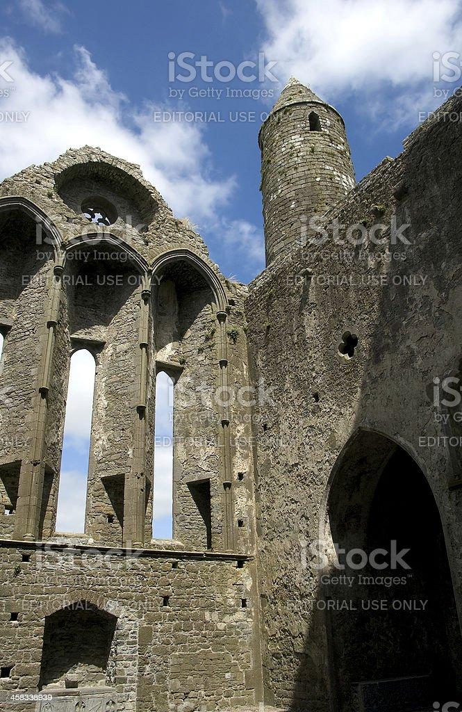 Cathedral, Cashel, Ireland royalty-free stock photo