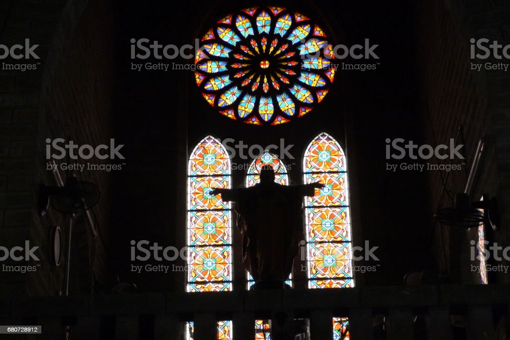 Cathedral Catholic cathedral stock photo