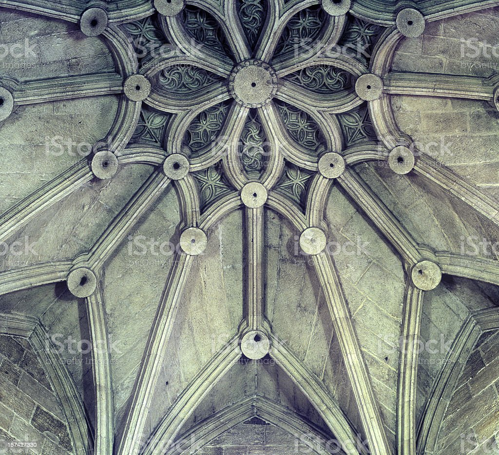 Cathedral Ceiling stock photo