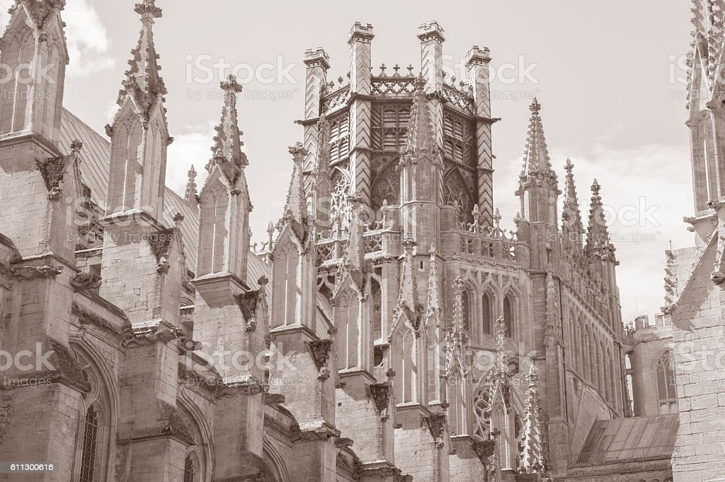 Cathedral Church Dome, Ely; Cambridgeshire; England; UK stock photo