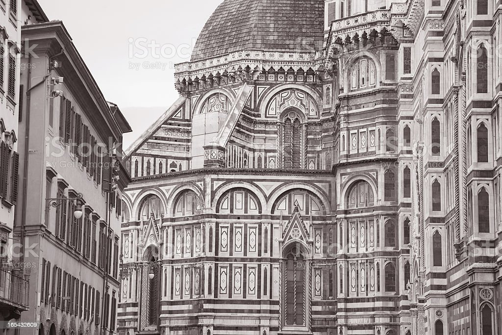 Cathedral Church in Florence royalty-free stock photo
