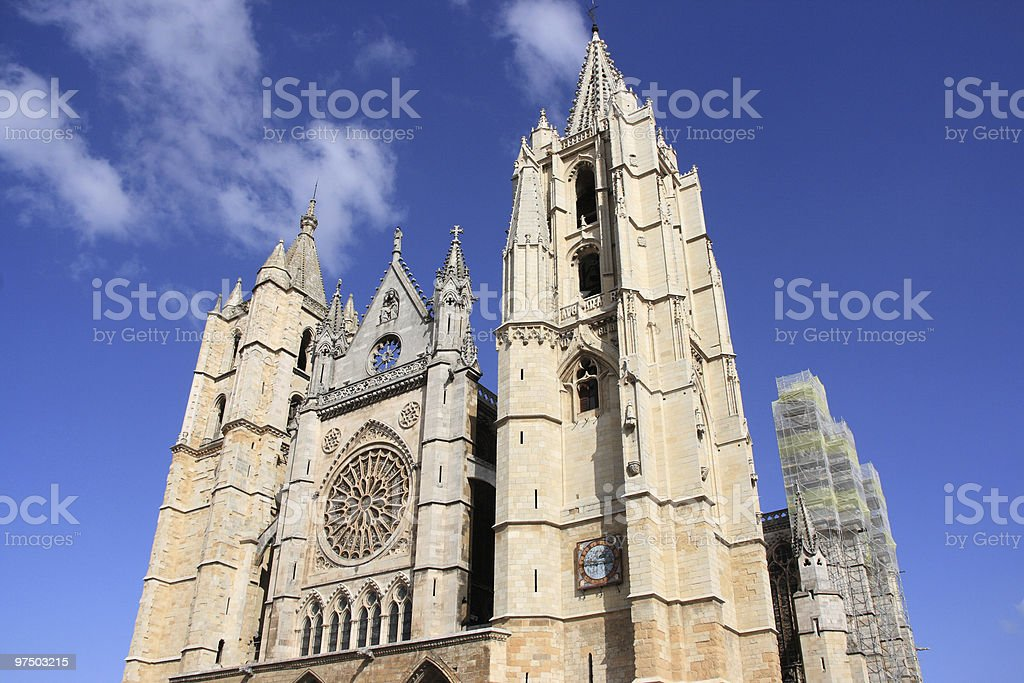 Cathedral church stock photo