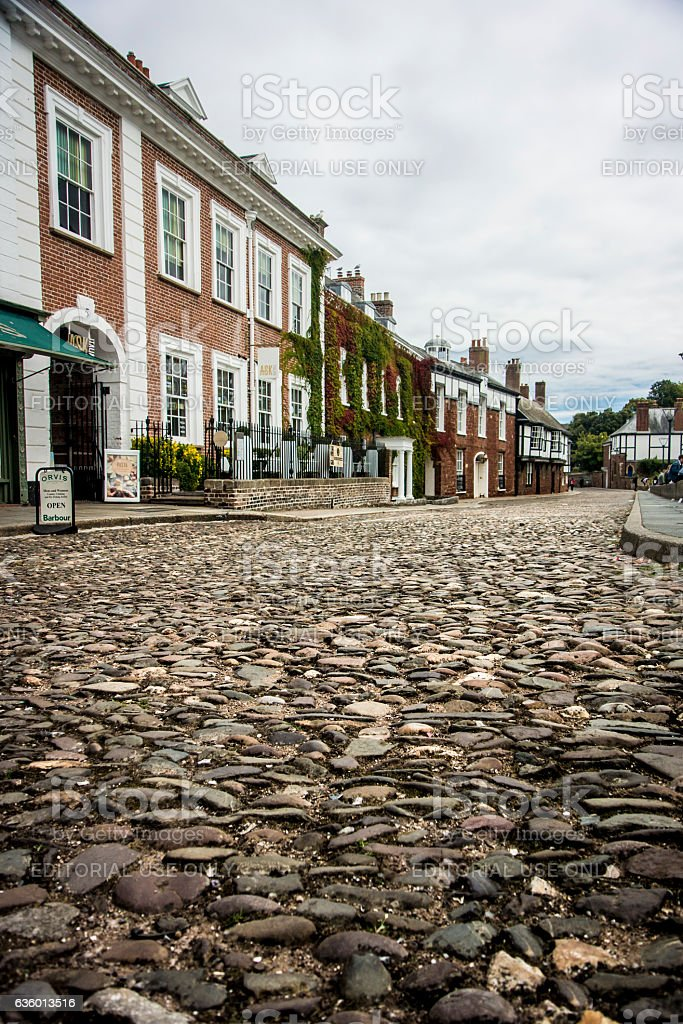 Cathedral Close, Exeter stock photo