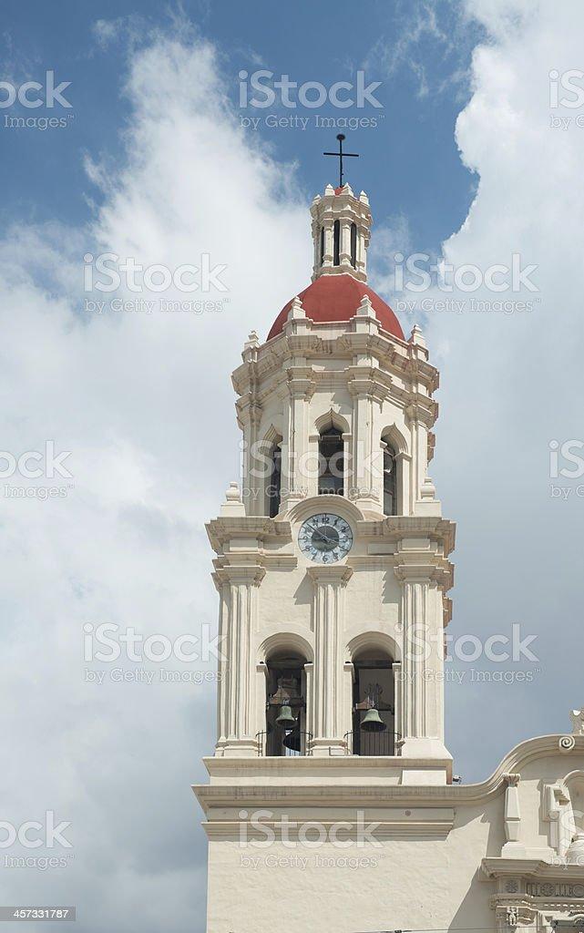Cathedral de Santiago in Saltillo, Mexico stock photo
