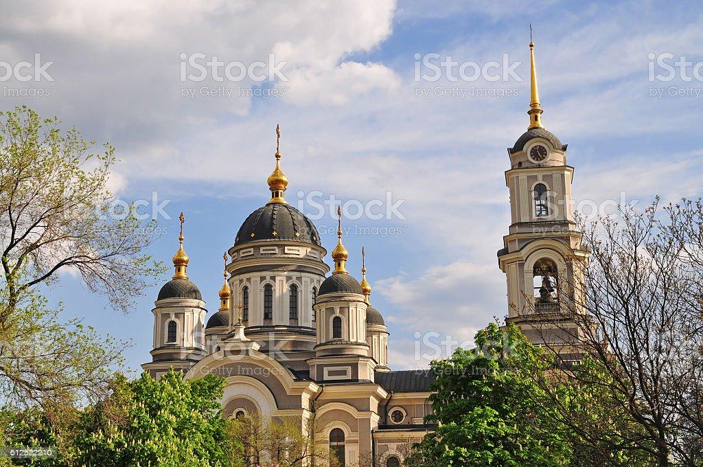 Cathedral.  Donetsk, Ukraine stock photo