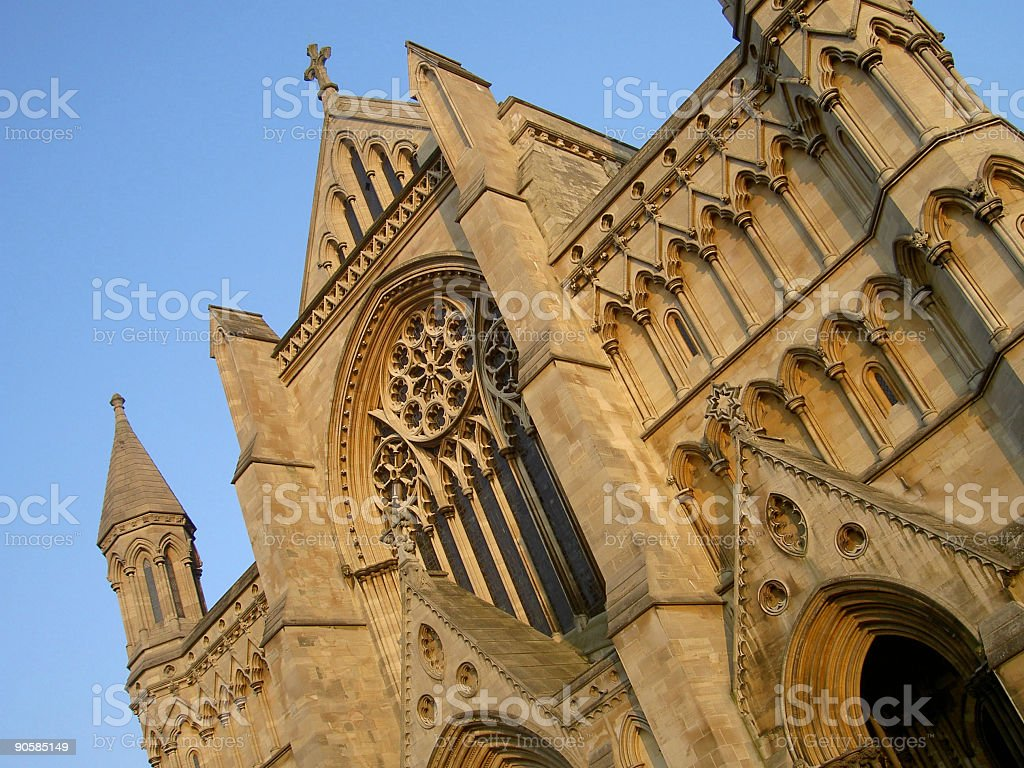 Cathedral Exterior 01 stock photo