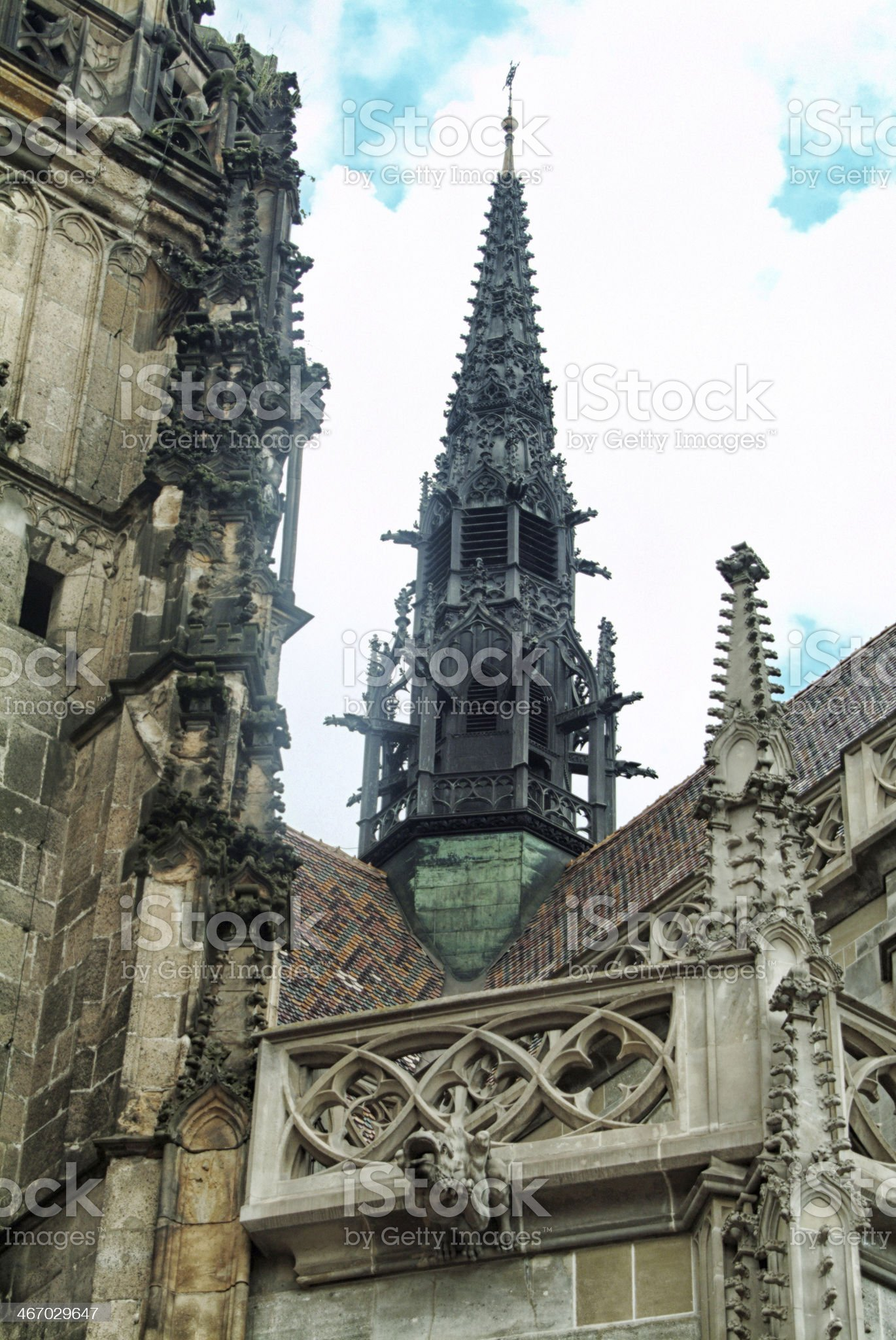Cathedral exterior royalty-free stock photo
