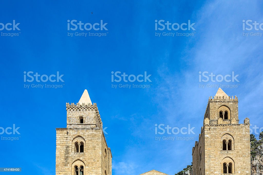 cefal? cattedrale stock photo