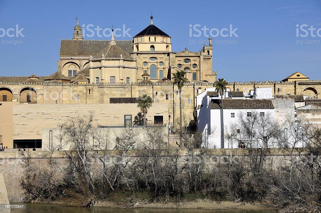 Cathedral in Cordoba, Spain stock photo