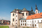 Cathedral in Litomysl, Czech Republic