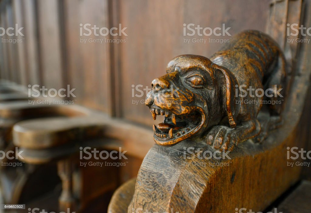 Cathedral in Nordlingen Germany stock photo