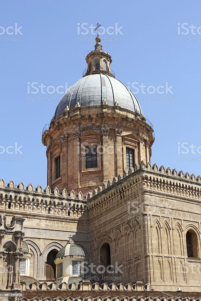 Cathedral in Palermo royalty-free stock photo