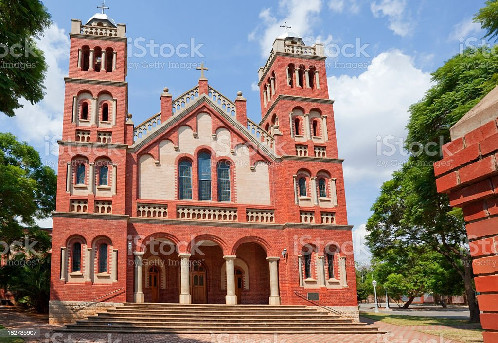 Cathedral in Polokwane royalty-free stock photo