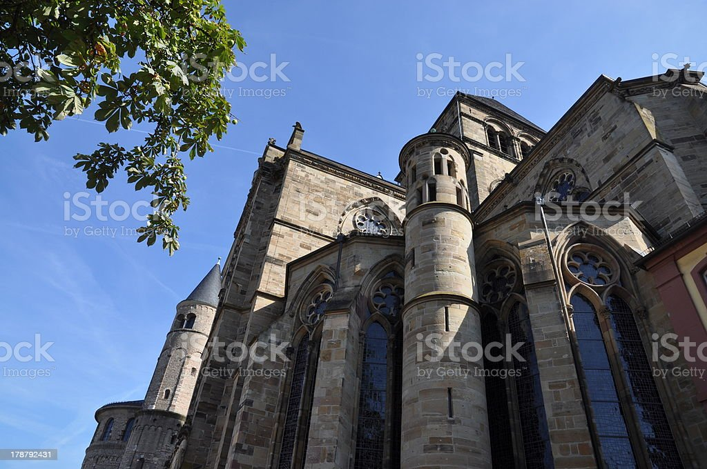 Cathedral in Treves, germany royalty-free stock photo