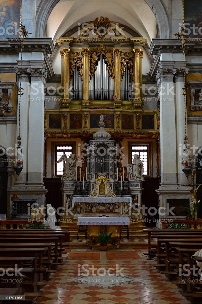 Cathedral in Venice royalty-free stock photo