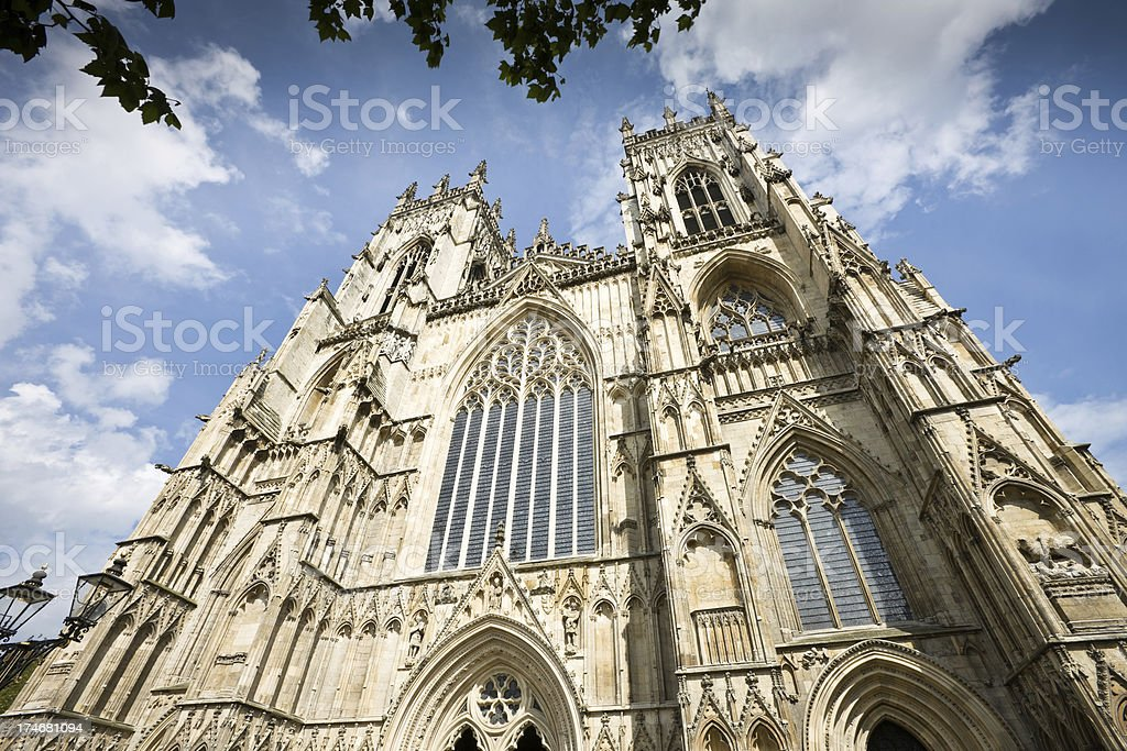 Cathedral in York royalty-free stock photo