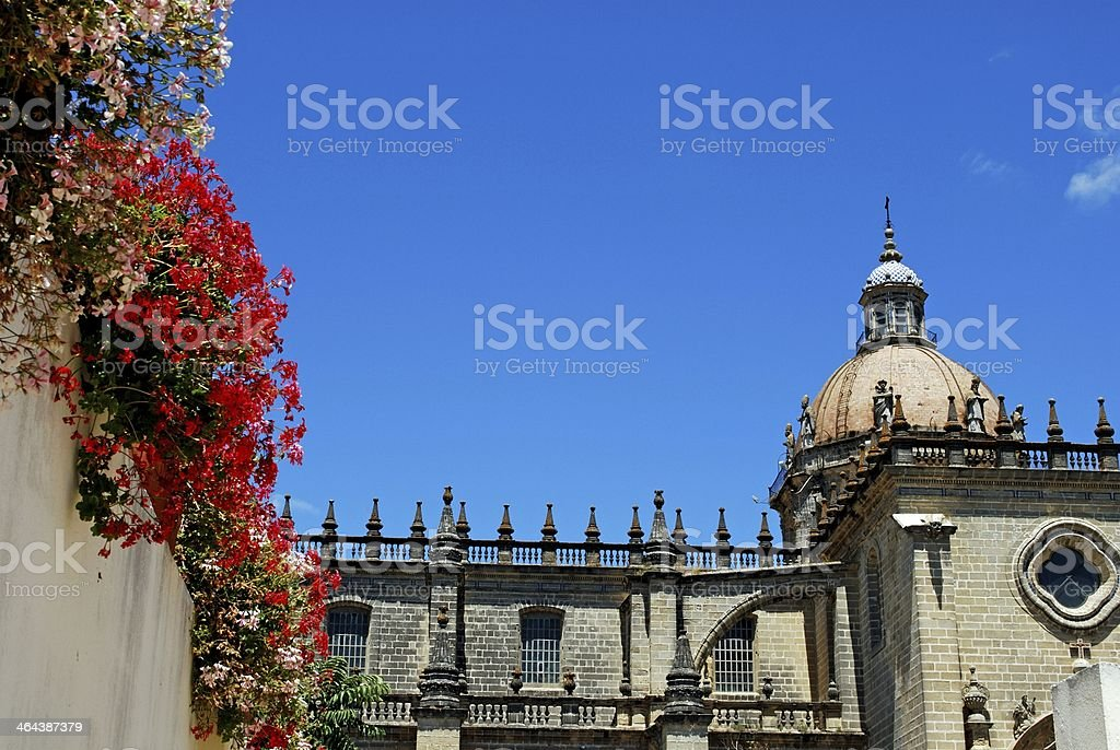 Cathedral, Jerez de la Frontera, Andalusia. royalty-free stock photo