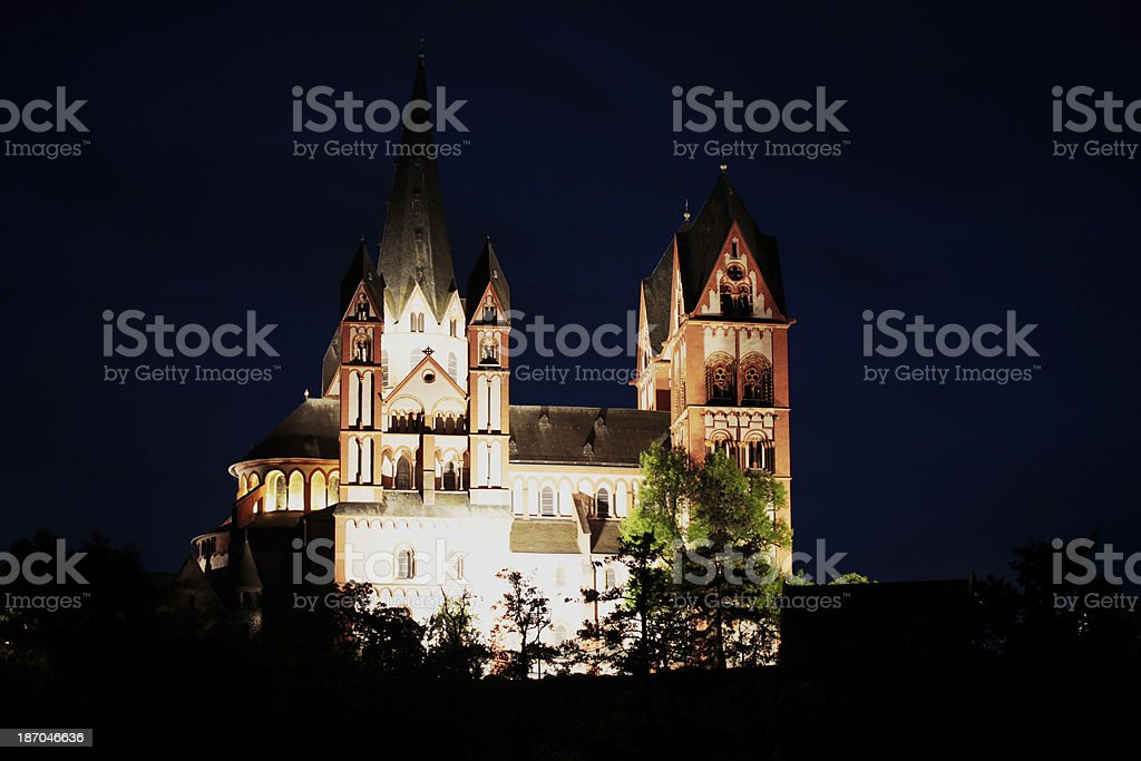 Cathedral, Limburg a/d Lahn royalty-free stock photo