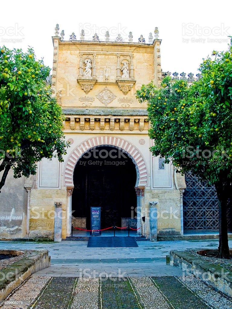 Cathedral Mosque, Mezquita de Cordoba. Andalusia, Spain stock photo
