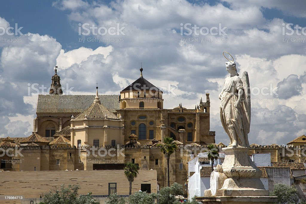 Cathedral Mosque of Cordoba royalty-free stock photo