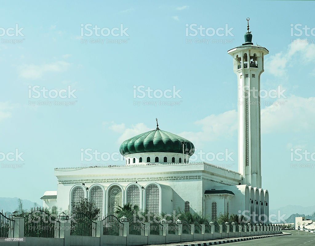 Cathedral mosque stock photo