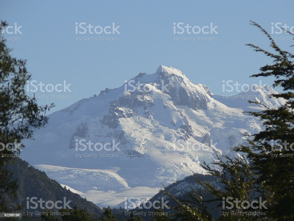 Catedral Mountain Patagonia royalty-free stock photo