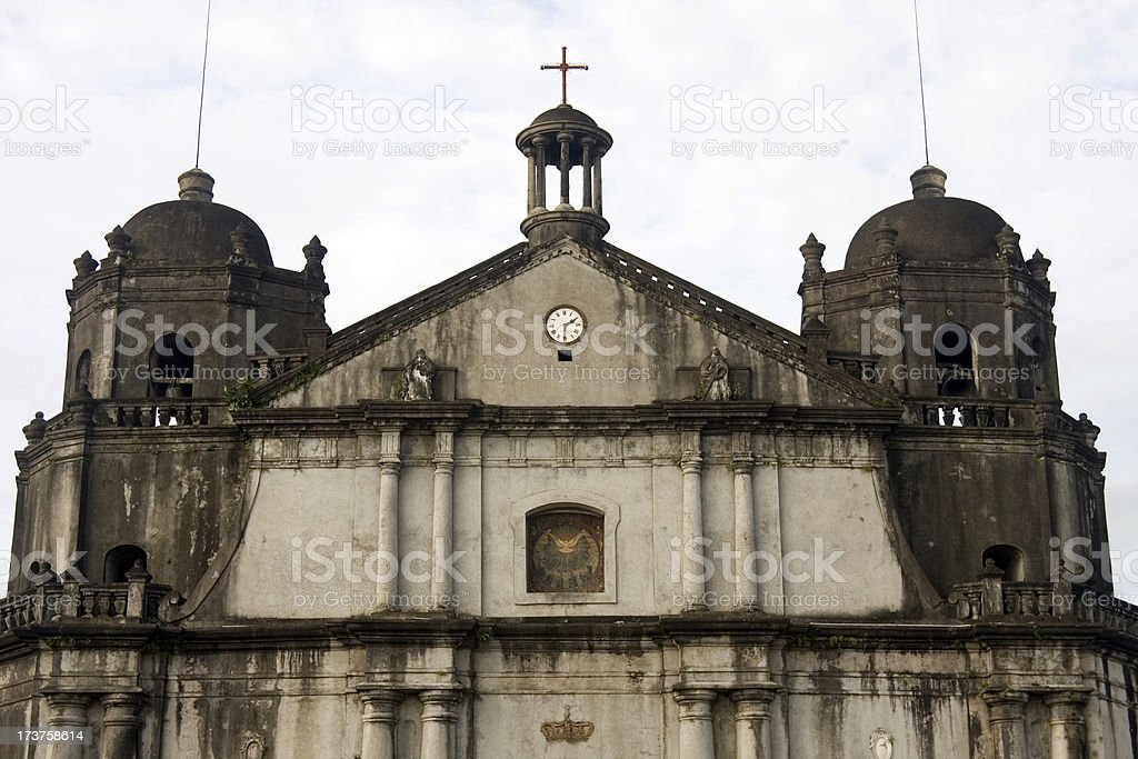 Cathedral - Naga City, Philippines stock photo
