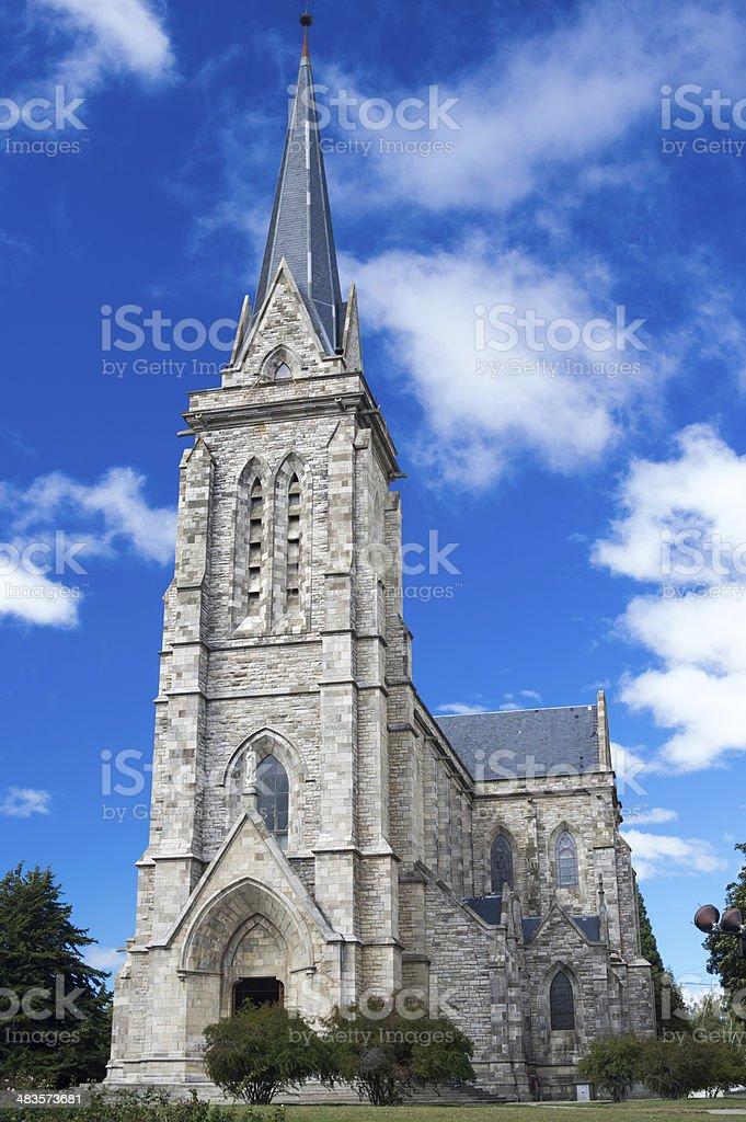 Cathedral Nahuel Huapi, Bariloche, Argentina royalty-free stock photo