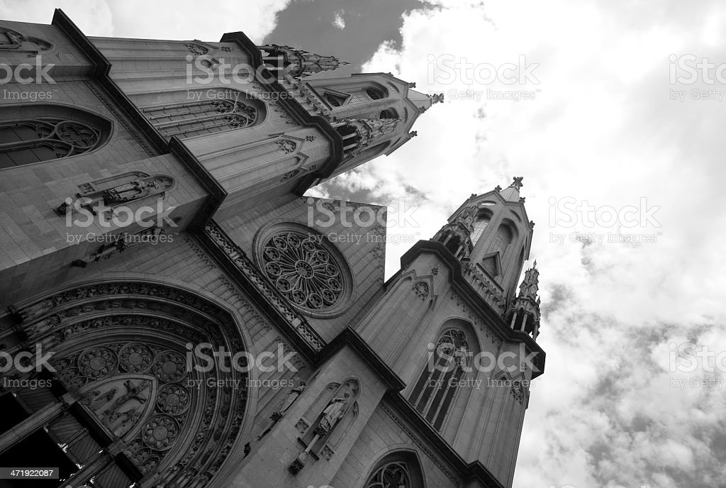 S? Cathedral royalty-free stock photo