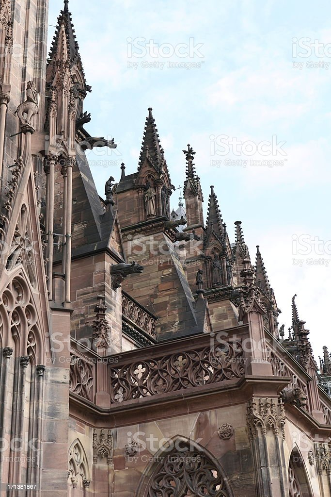 'Cathedral Notre Dame in Strasbourg, France' stock photo