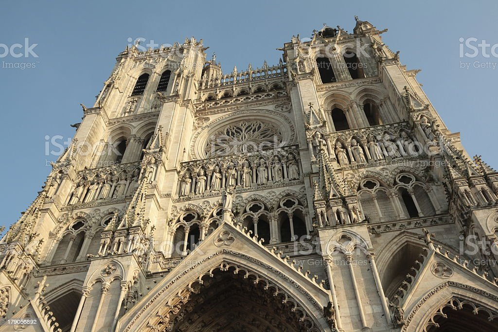 Cathedral of Amiens royalty-free stock photo
