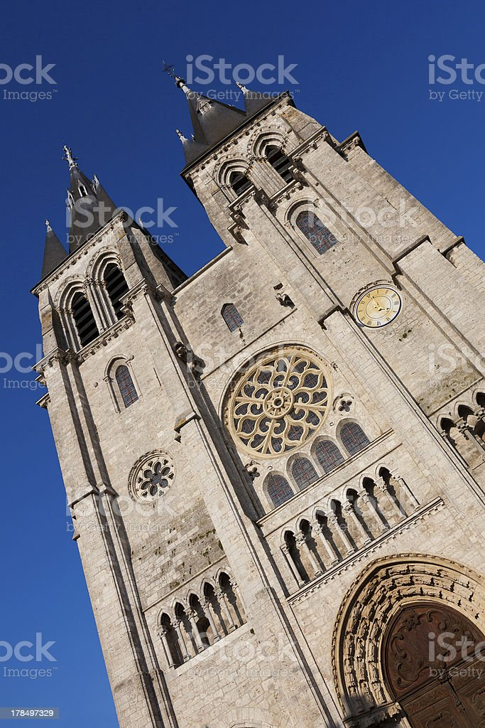 Cathedral of Blois, Loir et cher royalty-free stock photo
