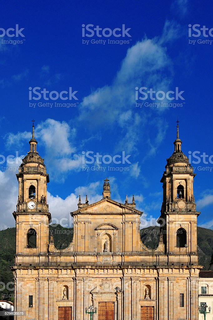 Cathedral of Bogot?, Colombia stock photo