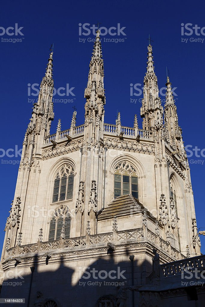 Cathedral of Burgos royalty-free stock photo