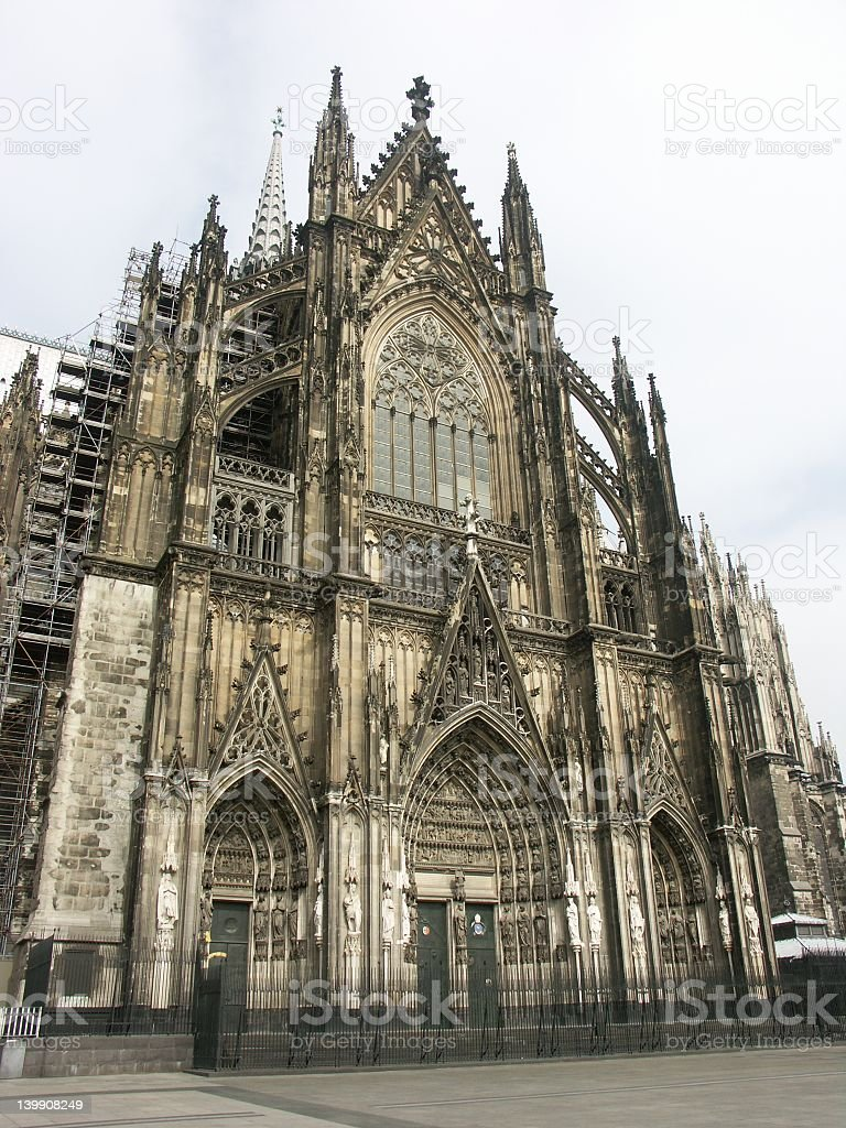 Cathedral of Cologne (Germany) royalty-free stock photo