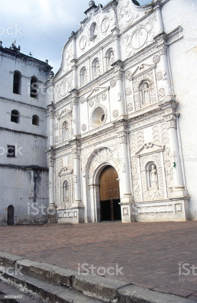 Cathedral of Comayagua in central Honduras Central America stock photo