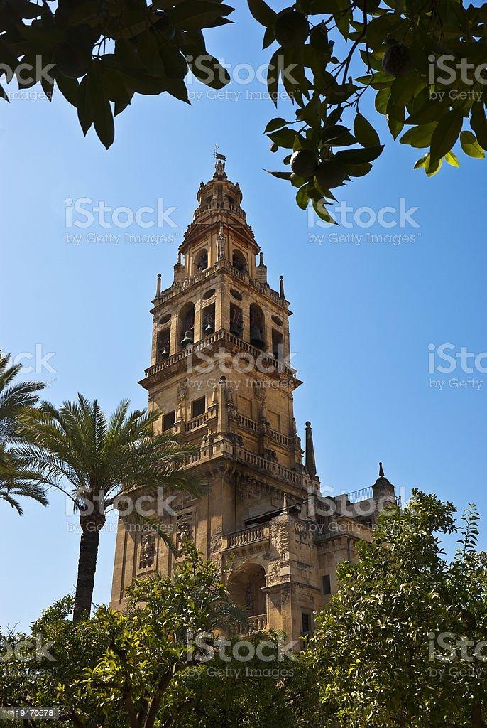 Cathedral of Cordoba stock photo