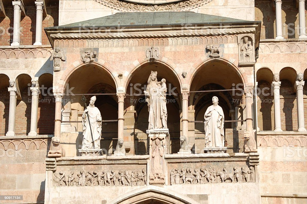 Cathedral of Cremona - Italy royalty-free stock photo