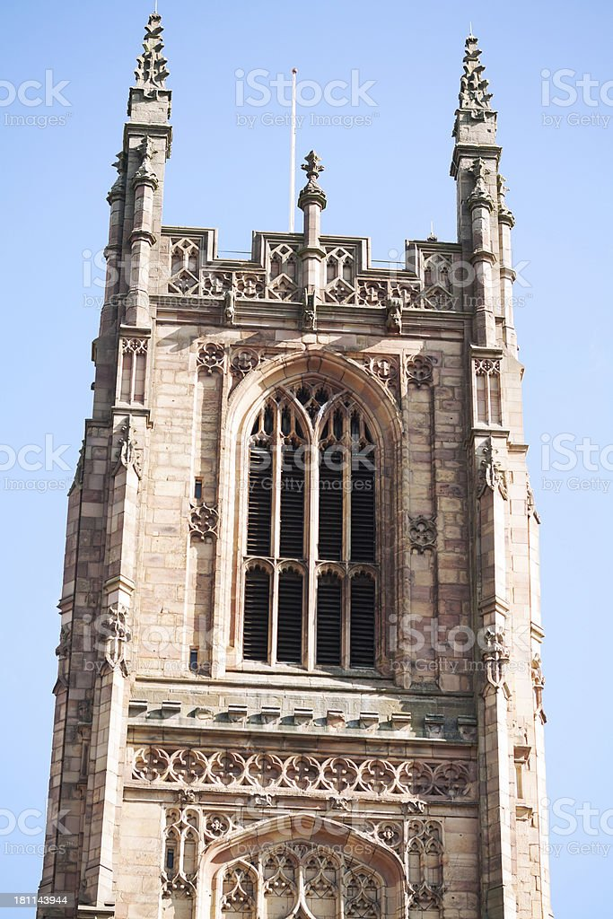 Cathedral of Derby royalty-free stock photo