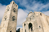 Cathedral of Erice, Santa Maria Assunta. Sicily, Italy