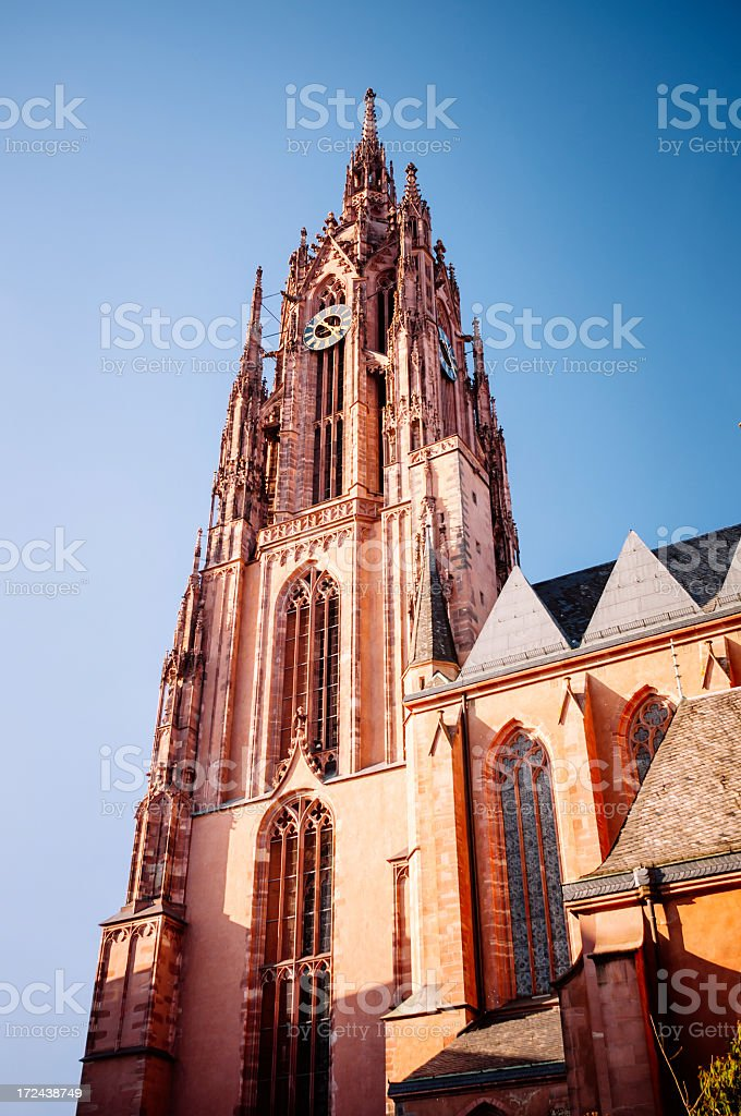 Cathedral of Frankfurt am Main - Frankfurter Dom royalty-free stock photo