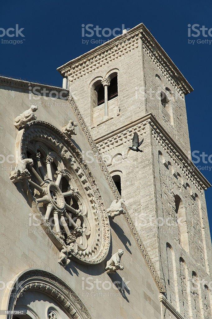Cathedral of Giovinazzo, Bari - Apulia (Italy) royalty-free stock photo